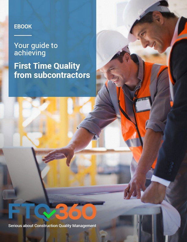 Achieving First Time Quality from subcontractors